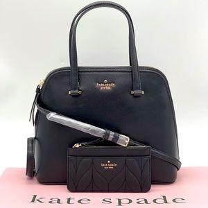 Kate Spade Medium Dome Satchel Bag & Card …